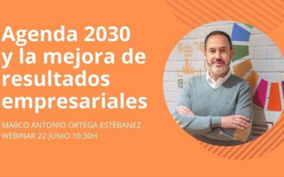 """Webinar """"Agenda 2030 y la mejora de los resultados empresariales"""""""